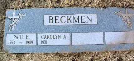 BECKMEN, PAUL HUGO - Yavapai County, Arizona | PAUL HUGO BECKMEN - Arizona Gravestone Photos