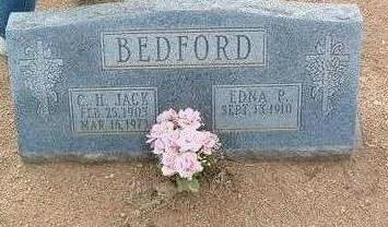 BEDFORD, EDNA P. - Yavapai County, Arizona | EDNA P. BEDFORD - Arizona Gravestone Photos