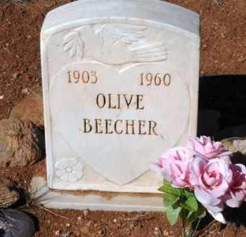 BEECHER, OLIVE - Yavapai County, Arizona | OLIVE BEECHER - Arizona Gravestone Photos