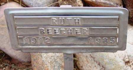 BEECHER, RUTH ANN - Yavapai County, Arizona | RUTH ANN BEECHER - Arizona Gravestone Photos