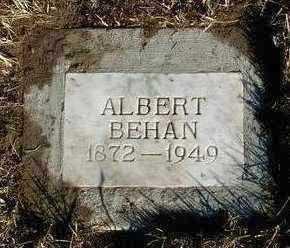 BEHAN, ALBERT PRICE - Yavapai County, Arizona | ALBERT PRICE BEHAN - Arizona Gravestone Photos