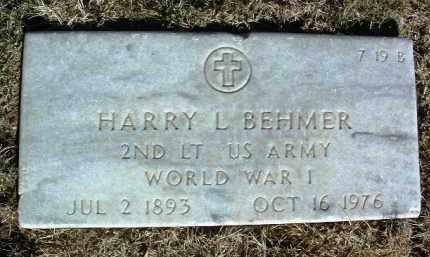 BEHMER, HARRY LEROY - Yavapai County, Arizona | HARRY LEROY BEHMER - Arizona Gravestone Photos
