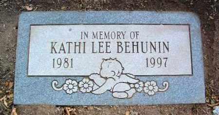 BEHUNIN, KATHI LEE - Yavapai County, Arizona   KATHI LEE BEHUNIN - Arizona Gravestone Photos