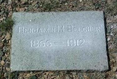 BELCHER, BENJAMIN MORRIS - Yavapai County, Arizona | BENJAMIN MORRIS BELCHER - Arizona Gravestone Photos