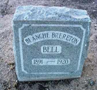 BRERETON BELL, MABEL BLANCHE - Yavapai County, Arizona   MABEL BLANCHE BRERETON BELL - Arizona Gravestone Photos