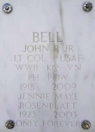 BELL, JOHN RAYMOND - Yavapai County, Arizona | JOHN RAYMOND BELL - Arizona Gravestone Photos