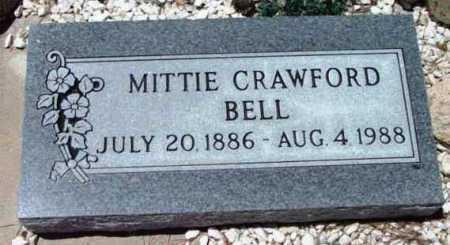 CRAWFORD BELL, MITTIE - Yavapai County, Arizona | MITTIE CRAWFORD BELL - Arizona Gravestone Photos