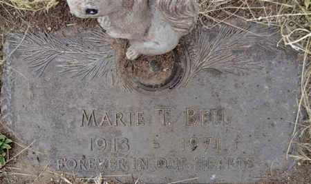 BELL, MARIE T. - Yavapai County, Arizona | MARIE T. BELL - Arizona Gravestone Photos