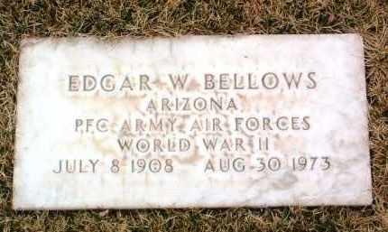 BELLOWS, EDGAR W. - Yavapai County, Arizona | EDGAR W. BELLOWS - Arizona Gravestone Photos