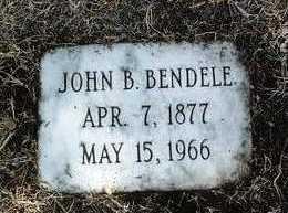 BENDELE, JOHN BAPTIST - Yavapai County, Arizona | JOHN BAPTIST BENDELE - Arizona Gravestone Photos
