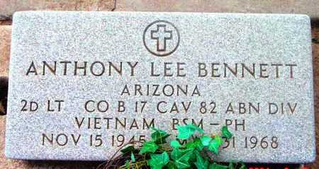 BENNETT, ANTHONY LEE - Yavapai County, Arizona   ANTHONY LEE BENNETT - Arizona Gravestone Photos