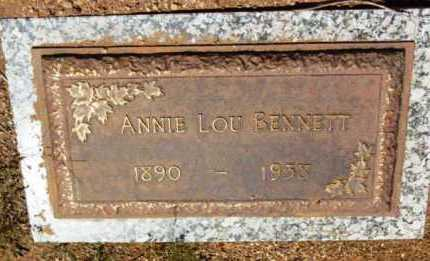 STARNS BENNETT, ANNA LOUISA (ANNIE LOU) - Yavapai County, Arizona | ANNA LOUISA (ANNIE LOU) STARNS BENNETT - Arizona Gravestone Photos