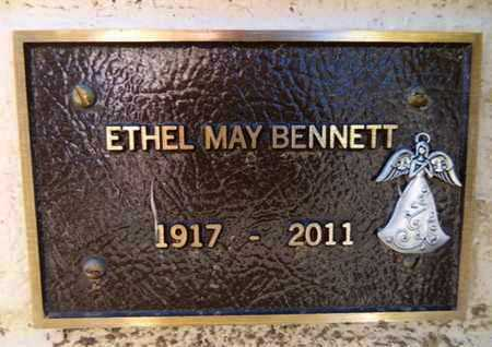 BENNETT, ETHEL MAY - Yavapai County, Arizona   ETHEL MAY BENNETT - Arizona Gravestone Photos