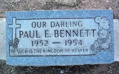 BENNETT, PAUL ELDEN - Yavapai County, Arizona | PAUL ELDEN BENNETT - Arizona Gravestone Photos