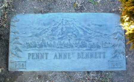 BENNETT, PENNY ANNE - Yavapai County, Arizona   PENNY ANNE BENNETT - Arizona Gravestone Photos