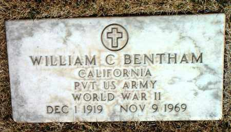 BENTHAM, WILLIAM C. - Yavapai County, Arizona | WILLIAM C. BENTHAM - Arizona Gravestone Photos