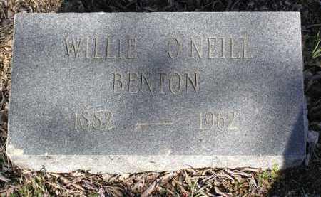 BENTON, WILLIE - Yavapai County, Arizona | WILLIE BENTON - Arizona Gravestone Photos