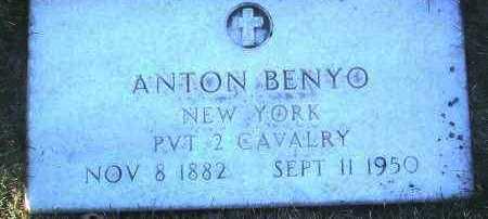 BENYO, ANTON - Yavapai County, Arizona | ANTON BENYO - Arizona Gravestone Photos