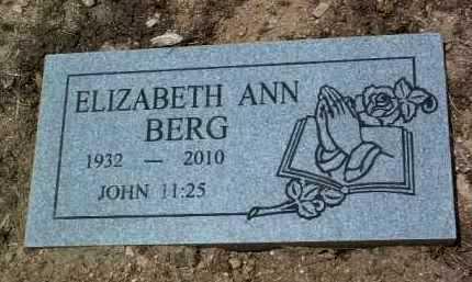 BERG, ELIZABETH ANN - Yavapai County, Arizona | ELIZABETH ANN BERG - Arizona Gravestone Photos
