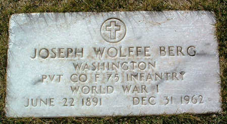 BERG, JOSEPH WOLFFE - Yavapai County, Arizona | JOSEPH WOLFFE BERG - Arizona Gravestone Photos