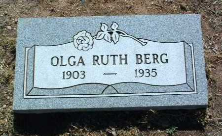 BERG, OLGA RUTH - Yavapai County, Arizona | OLGA RUTH BERG - Arizona Gravestone Photos