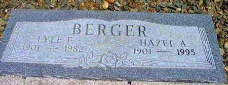 BERGER, HAZEL A. - Yavapai County, Arizona | HAZEL A. BERGER - Arizona Gravestone Photos