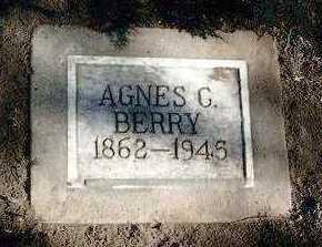 CADWELL BERRY, AGNES - Yavapai County, Arizona | AGNES CADWELL BERRY - Arizona Gravestone Photos