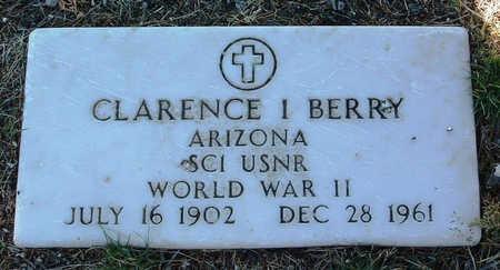 BERRY, CLARENCE IRVIN - Yavapai County, Arizona   CLARENCE IRVIN BERRY - Arizona Gravestone Photos