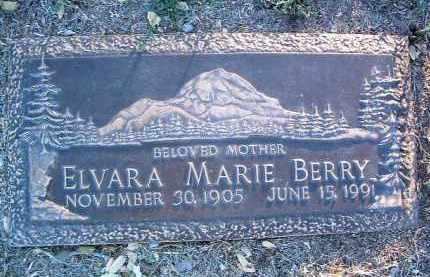 BERRY, ELVARA MARIE - Yavapai County, Arizona | ELVARA MARIE BERRY - Arizona Gravestone Photos