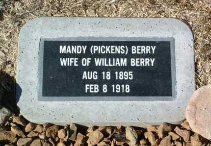 BERRY, MANDY - Yavapai County, Arizona | MANDY BERRY - Arizona Gravestone Photos