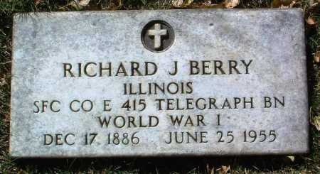BERRY, RICHARD J. - Yavapai County, Arizona   RICHARD J. BERRY - Arizona Gravestone Photos