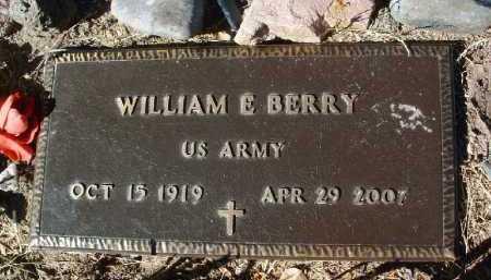 BERRY, WILLIAM ERVIN - Yavapai County, Arizona | WILLIAM ERVIN BERRY - Arizona Gravestone Photos