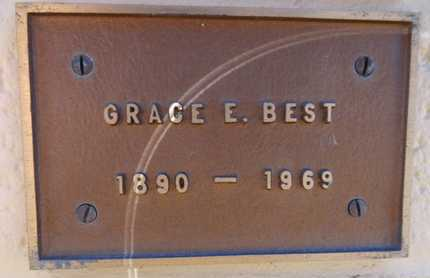 BEST, GRACE E. - Yavapai County, Arizona | GRACE E. BEST - Arizona Gravestone Photos
