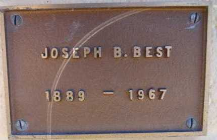 BEST, JOSEPH BISHOP - Yavapai County, Arizona | JOSEPH BISHOP BEST - Arizona Gravestone Photos