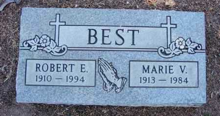 BEST, MARIE V. - Yavapai County, Arizona   MARIE V. BEST - Arizona Gravestone Photos