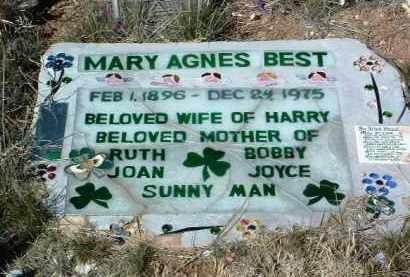 BEST, MARY AGNES - Yavapai County, Arizona | MARY AGNES BEST - Arizona Gravestone Photos