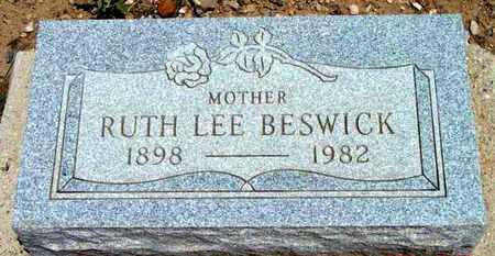 BESWICK, RUTH LEE - Yavapai County, Arizona | RUTH LEE BESWICK - Arizona Gravestone Photos