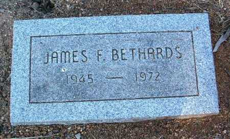 BETHARDS, JAMES FRANK - Yavapai County, Arizona   JAMES FRANK BETHARDS - Arizona Gravestone Photos