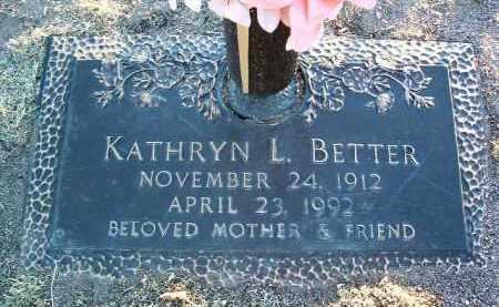 BETTER, KATHRYN LEE - Yavapai County, Arizona | KATHRYN LEE BETTER - Arizona Gravestone Photos
