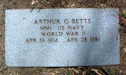 BETTS, ARTHUR G. - Yavapai County, Arizona | ARTHUR G. BETTS - Arizona Gravestone Photos