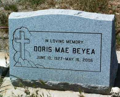 GILBERT BEYEA, DORIS MAE - Yavapai County, Arizona | DORIS MAE GILBERT BEYEA - Arizona Gravestone Photos