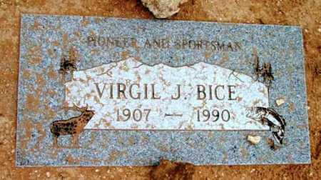 BICE, VIRGIL JEFFERSON - Yavapai County, Arizona | VIRGIL JEFFERSON BICE - Arizona Gravestone Photos