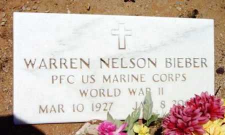 BIEBER, WARREN NELSON - Yavapai County, Arizona | WARREN NELSON BIEBER - Arizona Gravestone Photos