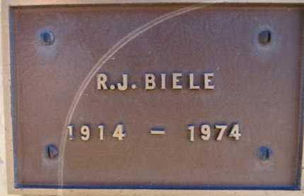 BIELE, RAY JAMES - Yavapai County, Arizona   RAY JAMES BIELE - Arizona Gravestone Photos