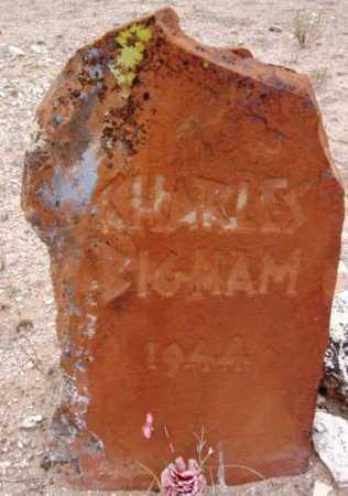 BIGHAM, CHARLES - Yavapai County, Arizona   CHARLES BIGHAM - Arizona Gravestone Photos