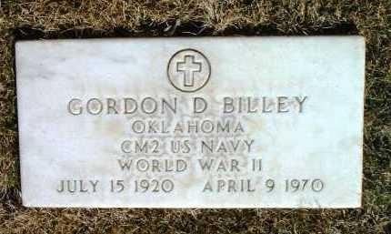 BILLEY, GORDON DENNIS - Yavapai County, Arizona | GORDON DENNIS BILLEY - Arizona Gravestone Photos