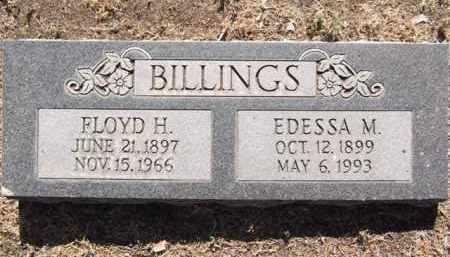 BILLINGS, FLOYD HENRY - Yavapai County, Arizona | FLOYD HENRY BILLINGS - Arizona Gravestone Photos