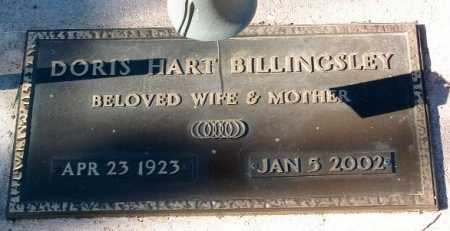 HART BILLINGSLEY, DORIS - Yavapai County, Arizona | DORIS HART BILLINGSLEY - Arizona Gravestone Photos