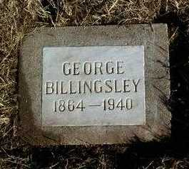 BILLINGSLEY, GEORGE - Yavapai County, Arizona | GEORGE BILLINGSLEY - Arizona Gravestone Photos
