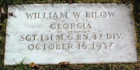 BILOW, WILLIAM W. - Yavapai County, Arizona | WILLIAM W. BILOW - Arizona Gravestone Photos